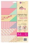 Mar - Apr A4 Julie Nutting Paper Pad - Prima