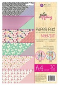 May - Jun A4 Julie Nutting Paper Pad - Prima