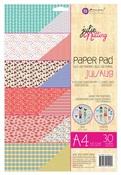 Jul - Aug A4 Julie Nutting Paper Pad - Prima