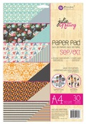 Sep - Oct A4 Julie Nutting Paper Pad - Prima