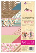 Nov - Dec A4 Julie Nutting Paper Pad - Prima