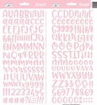 Cupcake Abigail Alpha Stickers - Doodlebug