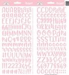 Cupcake Abigail Alpha Stickers - Doodlebug