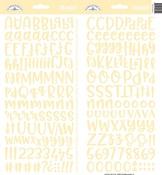 Bumblebee Abigail Alpha Stickers - Doodlebug
