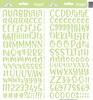 Limeade Abigail Alpha Stickers - Doodlebug