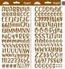 Bon Bon Abigail Alpha Stickers - Doodlebug
