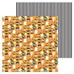 Trick Or Treat Paper - Booville - Doodlebug