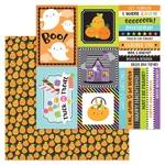 Pick-A-Pumpkin Paper - Booville - Doodlebug - PRE ORDER