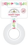 Happy Holidays Washi Tape - Doodlebug