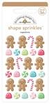 Sugarplums Shape Sprinkles