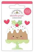 Christmas Cake Doodlepops - Doodlebug