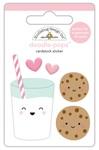 Milk & Cookies Doodlepops - Doodlebug