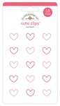 Mini Hearts Cute Clips - Doodlebug