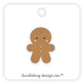 Gingerbread Man Collectible Pin - Doodlebug