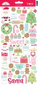 Milk & Cookies Icon Stickers - Doodlebug
