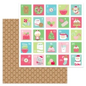 Jolly Gingerbread Paper - Milk & Cookies - Doodlebug