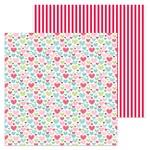 Flannel Jammies Paper - Milk & Cookies - Doodlebug - PRE ORDER