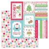 Christmas Party Paper - Milk & Cookies - Doodlebug