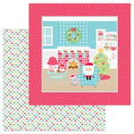 Pastel Starlights Paper - Milk & Cookies - Doodlebug