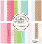 Milk & Cookies Petite Paper Pack - Doodlebug - PRE ORDER