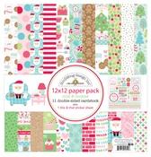 Milk & Cookies Paper Pack - Doodlebug