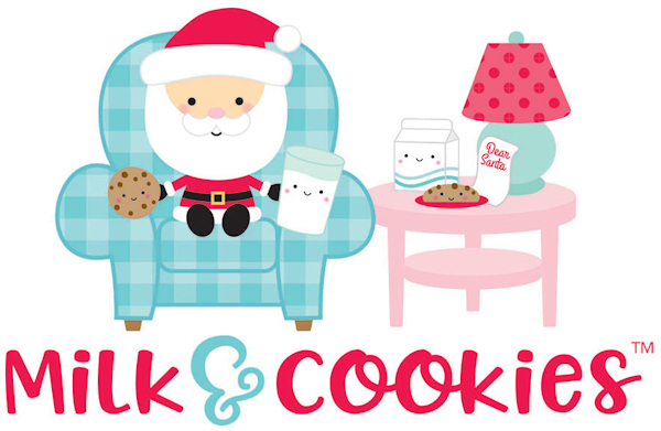 Milk & Cookies Milk and Cookies Doodlebug Design