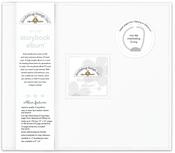 Lily White Storybook 12 x 12 Album - Doodlebug