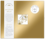 Gold Storybook 12 x 12 Album - Doodlebug