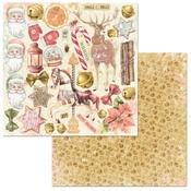 Wonder Paper - Carousel Christmas - Bo Bunny