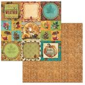 Fall Paper - Dreams Of Autumn - Bo Bunny
