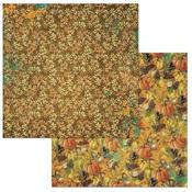 Pumpkin Spice Paper - Dreams Of Autumn - Bo Bunny