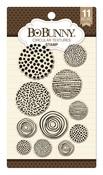 Circular Textures Stamp - Bo Bunny