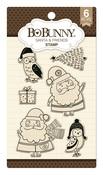 Santa & Friends Stamp - Bo Bunny