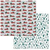 Christmas Tree Paper - Fa La La - Bo Bunny