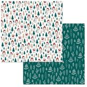 Holiday Hoot Paper - Fa La La - Bo Bunny