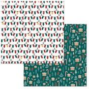 Sparkle Paper - Fa La La - Bo Bunny