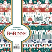 Fa La La 6 x 6 Paper Pad - Bo Bunny