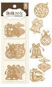 Ornaments Laser Cut Chipboard - Bo Bunny
