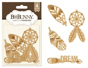 Dreamcatcher Laser Cut Chipboard - Bo Bunny