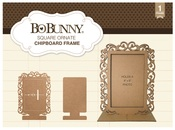 Square Ornate Chipboard Frame - Bo Bunny