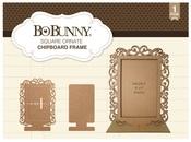 Square Ornate Chipboard Frame - Bo Bunny