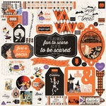 Bewitched Details Sticker Sheet - Authentique - PRE ORDER