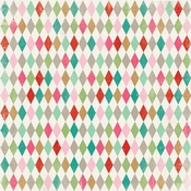 Colorful Christmas Two Paper - Authentique