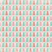 Colorful Christmas Seven Paper - Authentique