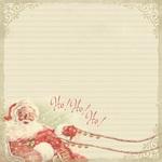 Vintage Christmas Paper Eight - Authentique - PRE ORDER