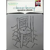 Vincent's Chair Donna Downey Signature Stencils