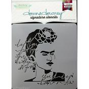 Frida Donna Downey Signature Stencils