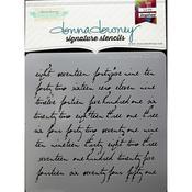 Script Numbers Donna Downey Signature Stencils