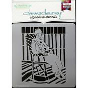 Matisse Balcony Donna Downey Signature Stencils