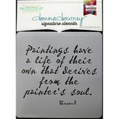 Vincent-Paintings Donna Downey Signature Stencils